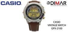 VINTAGE CASIO SPORT GPX-2100-8V . QW.939 .JAPAN. WR.200m. AÑO.1991. CHRONO 1000