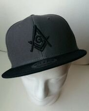 Masonic Hat Freemason OTTO Snapback Grey Charcoal Mason One Size Fits Most F&AM