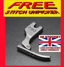 INDUSTRIAL SEWING MACHINE NARROW PRESSER FOOT ZIP/CORDING FREE UNPICKER P363