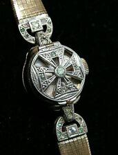 ancienne montre mecanique femme art déco bracelet
