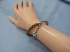 6511-925er Silber+Leder Armband Von Thomas Sabo Lang 17 cm Gewicht 9,8 Gramm