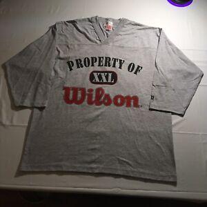 Vintage 90s Wilson Athletics T-Shirt Mens XXL Basketball Tennis Baseball NWT USA