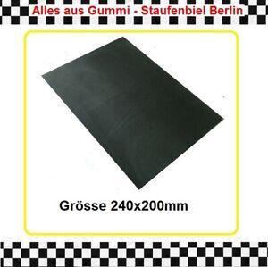 1x Gummiplatte 1,5mm SBR benzinfest Gummimembrane 240x200mm  3940.20 aus BERLIN
