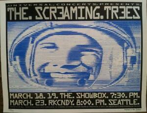 Frank Kozik - 1997 - Screaming Trees Concert poster