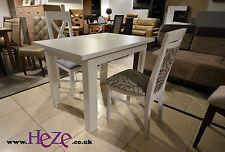 Modern, white, small size, extending, dining table, bargin!