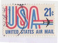 (UST-335) 1971 USA 21c USA Air mail (F)
