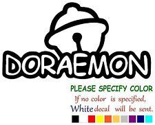 """Doraemon Graphic Die Cut decal sticker Car Truck Boat Window Laptop 12"""""""