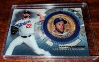 CLAYTON KERSHAW 2020 TOPPS UPDATE COMMEMORATIVE COIN #TBC-CK DODGERS #WS CHAMP