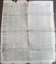 Group of 3 original antique Civil War era American Newspapers!  #8