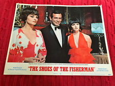 The Shoes Of The Fisherman 1969 MGM lobby card David Janssen Barbara Jefford