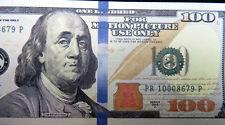 Motion Picture Prop Money Franklin $100 Novelty Fake Funny Money