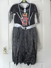 GIRLS FALLEN ANGEL HALLOWEEN OUTFIT COSTUME AGE 11-12 YEARS BRAND NEW WITH TAGS