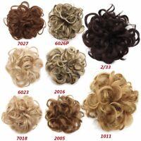 Femme Chouchou Cheveux Perruque Boucle Extension Chignon Bandeau Donut  Profi