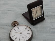 Sportsman's Novelty Cortebert pocket watch, estate find watch for restoration
