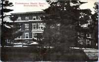 Oconomowoc Health Resort Wisconsin 1910 Postcard