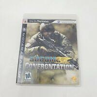 Socom U.S. Navy Seals Confrontation PS3 (Sony Playstation 3,2008) CIB TESTED