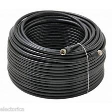 100 FT RG-6 SATELLITE COAX CABLE RG6 COAXAL WIRE HD DTV