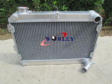 For MAZDA RX7 RX-7 SA/FB S1/S2/S3,79-85 56mm 3 core aluminum radiator