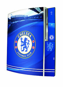 Chelsea Football Club Playstation 3 Original Console Skin Sticker PS3 Blues New