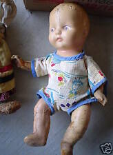Vintage 1920s Composition Baby Boy Doll LOOK