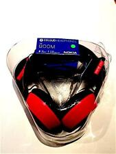 New Nokia WH-530 Coloud Boom On Ear Headphones Red With Tangle Free Cable