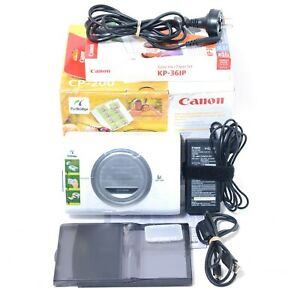 Canon CP-200 Card Photo Printer - Portable TESTED! w/ Box & Accessories