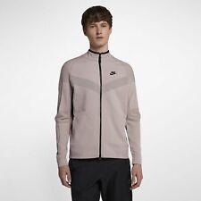a98c345a0561 Men s Nike Sportswear Tech Knit Jacket Particle Rose Size MEDIUM 886150 684  NWT