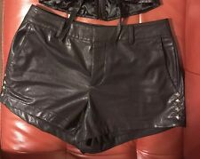 Faux Leather Shorts size MEDIUM