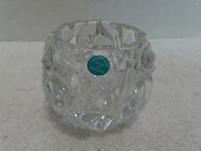 b66aa6df29c7 TIFFANY   Co. Glass Crystal Rock Votive Candle Holder