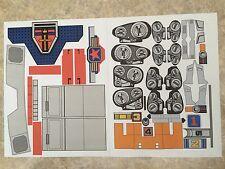 Voltron Golion Shogun Warrior Sticker Decals - Eclectic Set - VINYL