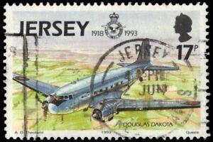 """JERSEY 634 (SG618) - Royal Air Force 75th Anniversary """"Douglas Dakota"""" (pa85354)"""