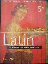 LATIN 5e - programme 1997 - Nathan / sous la direction de J. Gaillard - 1997