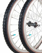 "Kenda Comp 3 III old school BMX skinwall MINI 451mm tires 20"" X 1 3/8"" BLACK"