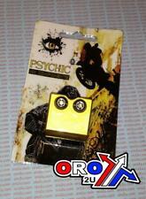 BRAKE LINE CLAMP GOLD  SUZUKI RM85 2005 - 2010