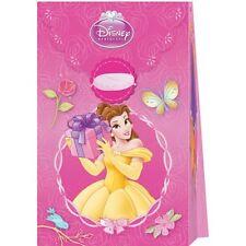 Pack of 6 Disney Princess Paper Party Favour Bags - Loot Bag