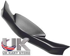 KG MK14 Cadet Nose Cone / Front Spoiler Black UK KART STORE