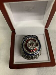 Chicago Cubs 2016 Anthony Rizzo Silver World Series Championship Ring *REDUCED*