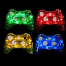 Glow Light Wireless/USB Wired Controller Gamepad Joystick For Xbox 360 & PC