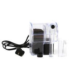 Pro Mini Waterfall External Oxygen Pump Water Filter Hang On Aquarium Fish Tank