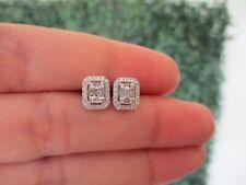 .24 CTW Diamond Earrings 14K White Gold JS95E sep