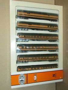 57Q Con-Cor 9901 Boxset 6 Cars Travellers Great Northern Empire Builder N