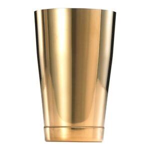 Mercer Barfly 18oz Shaker/Tin   Gold Plated
