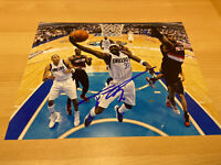 Jason Terry Dallas Mavericks The Jet Dirk Autographed Signed 8X10 Photo W/COA