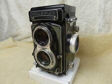 Rolleiflex T 75mm f/3.5 Tessar Grey TLR 6x6 Film Camera