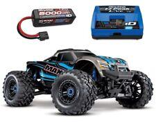 Traxxas Maxx 4S 1:10 4WD Monster Truck Brushless TQi 90+ km/h blau - 89076-4BSET