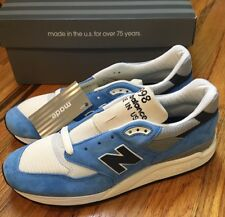 NEW J Crew x New Balance M998 Made In USA Bright Blue - Size 10 1400