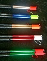 Pro-Sheen Diabolo Handsticks + String - Rainbow Dragon Diablo Hand Sticks Set