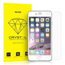 Apple iPhone 6 / 6s Screen Protector, Nuvio Crystal Premium Tempered Glass