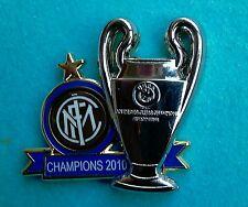 Distintivo spilla pin badge Uff. F.C. INTER  CAMPIONE D'EUROPA 2010 risoluz. 3D
