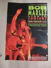 BOB MARLEY LIVE IN CONCERT - Poster Plakat + Fotos - 1999